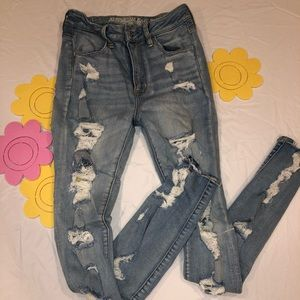 SUPER TRENDY SUPER STRETCH AMERICAN EAGLE SIZE 4